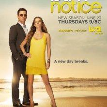Un poster della stagione 5 di Burn Notice - Duro a morire