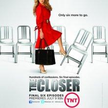 Un poster della stagione 7 di The Closer