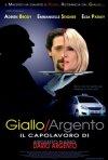La locandina italiana di Giallo/Argento