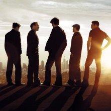 Un poster della stagione 8 di Entourage