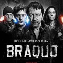 Un poster della serie Braquo