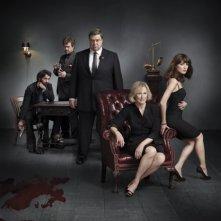 Foto del cast di Damages stagione quattro