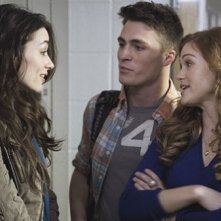 Crystal Reed e Holland Roden in una scena dell'episodio 'Wolf Moon' di Teen Wolf