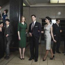 Il cast della serie The Hour