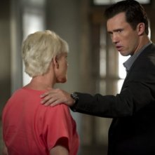 Jeffrey Donovan e Sharon Gless nell'episodio 'Bloodlines' di Burn Notice