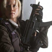 Jessy Schram nell'episodio Prisoner of War della serie Falling Skies