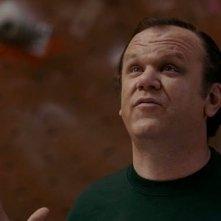 John C. Reilly in una scena del film Cedar Rapids