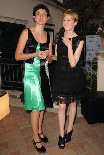 Nastri d'Argento 2011: Alba e Alice Rohrwacher.