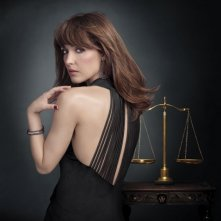Rose Byrne in una foto promozionale per Damages stagione quattro