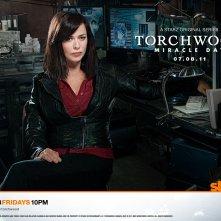 Un wallpaper con Eve Myles per la stagione 4 di Torchwood