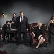 Una foto promozionale del cast di Damages stagione quattro