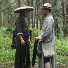 Donnie Yen e Takeshi Kaneshiro in una sequenza del film Swordsmen - Wu xia