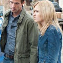 Emily Rose e Lucas Bryant nell'episodio 'Love Machine' di Haven