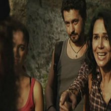 Catherine Wilkening in una scena del film Ballkan Bazar