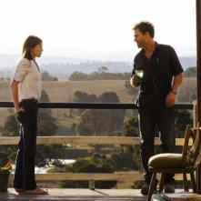 Charlotte Gainsbourg con Marton Csokas in una immagine del film The Tree
