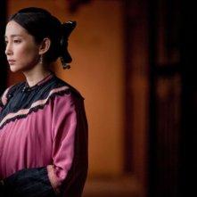 Il ventaglio segreto: Gianna Jun in una scena del film