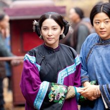 Il ventaglio segreto: Li Bing Bing e Gianna Jun in una scena del film