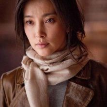 Primo piano di Li Bing Bing dal film Il ventaglio segreto