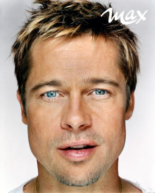 Brad Pitt su MAX Italia di Luglio 2011