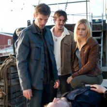 Emily Rose, Eric Eric Balfour e Lucas Bryant nell'episodio 'Fear & Loathing' di Haven