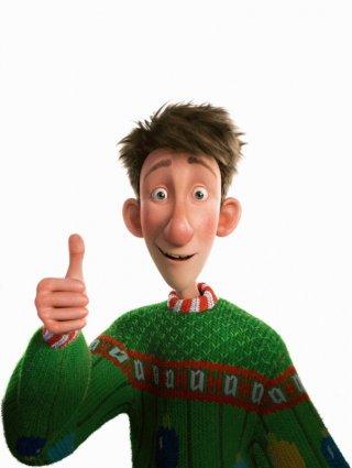 Un'immagine promozionale del protagonista di Arthur Christmas