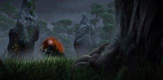 Ecco un'immagine della rossa e volitiva protagonista del lungometraggio animato Brave
