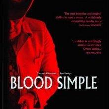 Locandina originale di Blood Simple