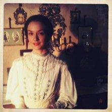 Marta Gastini sul set di Dracula 3D