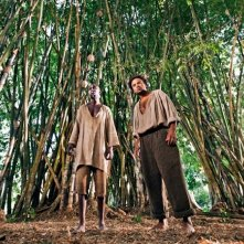 Thomas Ngijol e Fabrice Eboué in una scena del film Case Départ