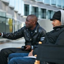 Thomas Ngijol e Fabrice Eboué sul set di Case Départ