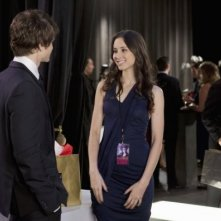 Troian Avery Bellisario e Keegan Allen nell'episodio 'Never Letting Go' di Pretty Little Liars