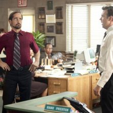 Colin Farrell e Jason Sudeikis in Horrible Bosses