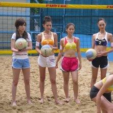 Una scena del film Beach Spike