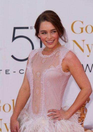 Emilia Clarke ospite al Monte-Carlo TV Festival del 2011