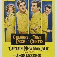 La locandina di Capitan Newman