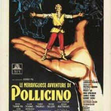 La locandina di Le meravigliose avventure di Pollicino