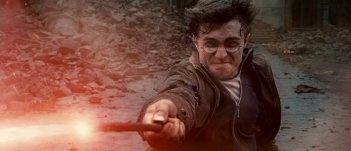 Harry Potter e i doni della morte - parte 2: Daniel Radcliffe in un momento del film