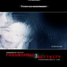 La locandina di Paranormal Activity 3