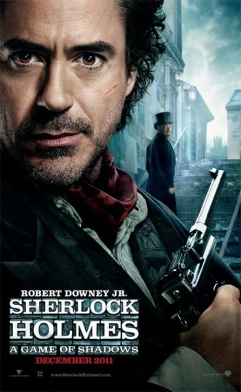 Character poster per Sherlock Holmes: A Game of Shadows - Robert Downey jr. è Holmes