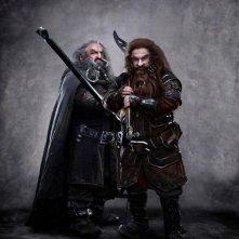 Ecco due nuovi nani di The Hobbit: An Unexpected Journey: John Callen nei panni di Oin e Peter Hambleton in quelli di Gloin