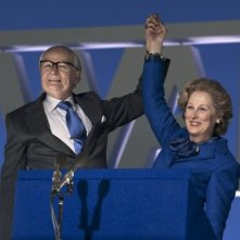Jim Broadbent e Meryl Streep in The Iron Lady