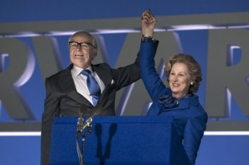 Jim Broadbent e Meryl Streep in The Iron Lady