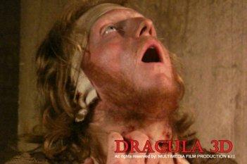 Una immagine splatter del film Dracula 3D di Dario Argento