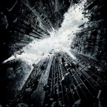 La locandina di The Dark Knight Rises