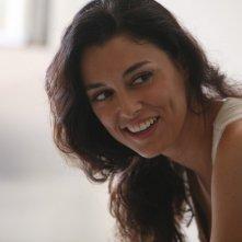 Paola Casella in una scena de La sera della prima di Loretta Cavallaro