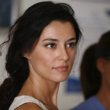 Paola Casella in una scena del film La sera della prima di Loretta Cavallaro