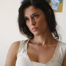 Paola Casella in una sequenza del film La sera della prima di Loretta Cavallaro