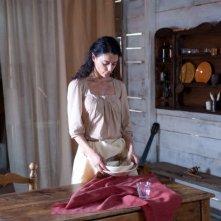 Paola Casella in una sequenza del film Quel che resta di Laszlo Barbo