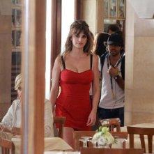 Penelope Cruz sul set romano di Bop Decameron