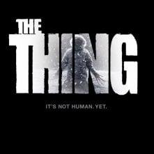 Teaser poster per The Thing, remake de La cosa